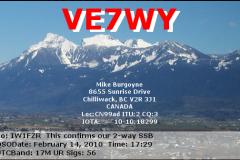 VE7WY_20100214_1729_17M_SSB