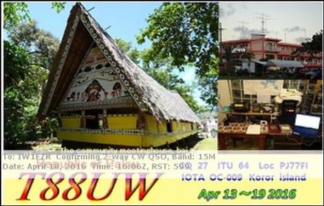 T88UW 18042016 1606 15m CW