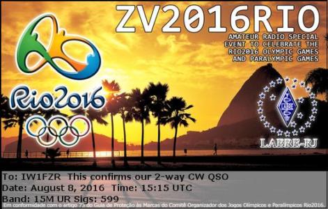 ZV2016RIO 08082016 1515 15m CW